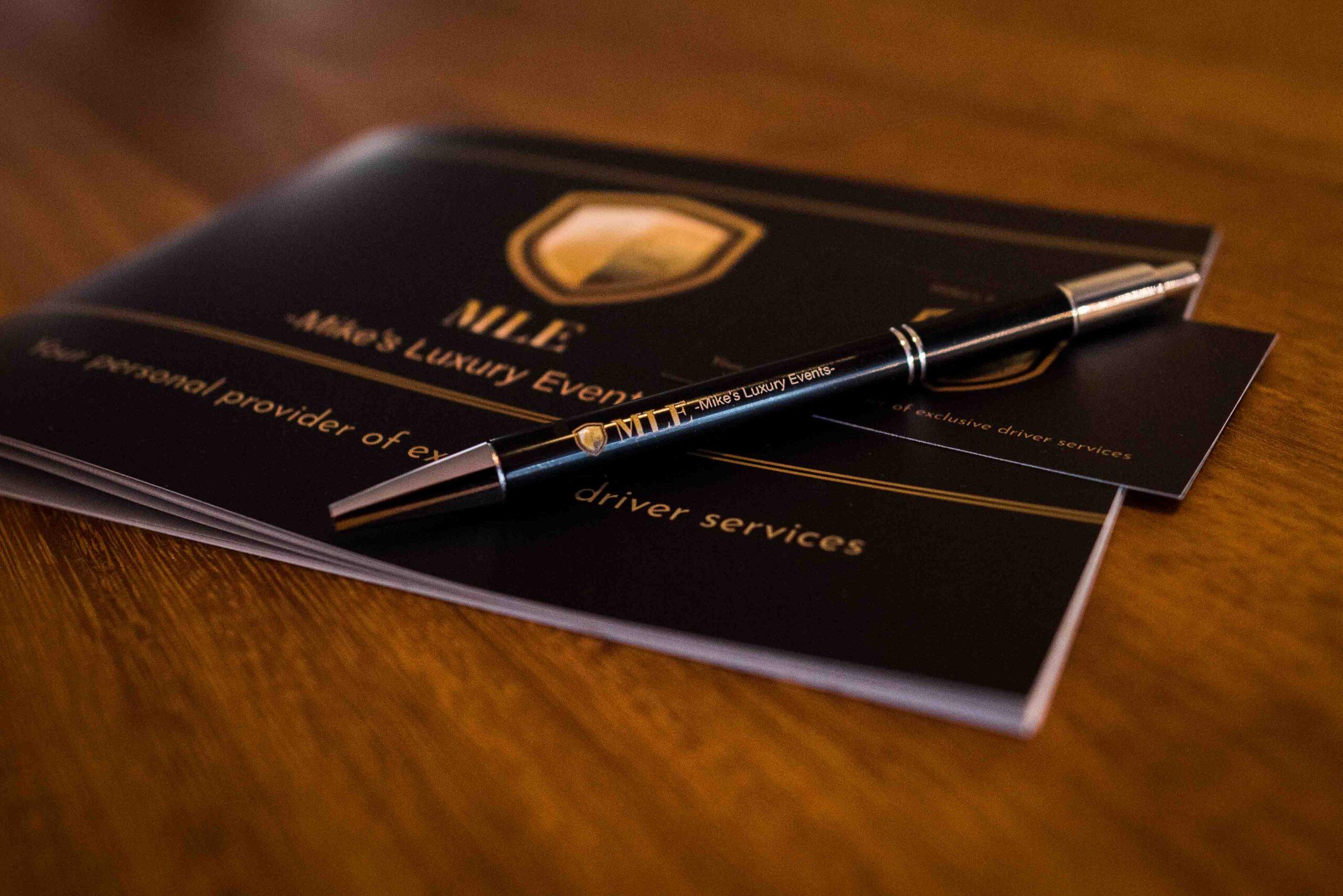 Informatiepakket Mike's Luxury Events